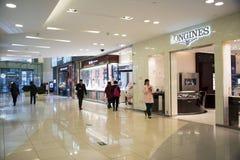 Aziatisch China, Peking, Wangfujing, APM-winkelcentrum, binnenlandse ontwerpwinkel, Stock Fotografie