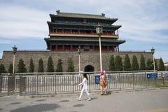 Aziatisch China, Peking, Zhengyang-poort, poort, Stock Fotografie