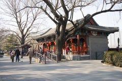 Aziatisch China, Peking, Zizhuyuan-Park Royalty-vrije Stock Foto's