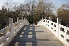 Aziatisch China, Peking, Zizhuyuan-Park Royalty-vrije Stock Afbeeldingen