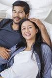 Aziatisch Chinees Man Vrouwenpaar Royalty-vrije Stock Foto