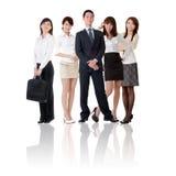 Aziatisch commercieel team stock foto's