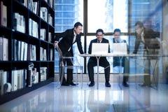 Aziatisch Commercieel Team Royalty-vrije Stock Afbeelding