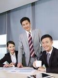 Aziatisch commercieel team Royalty-vrije Stock Fotografie