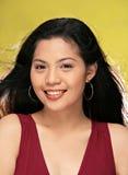 Aziatisch dameportret stock foto