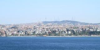 Aziatisch deel van Istanboel royalty-vrije stock fotografie