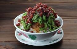 Aziatisch dessert stock afbeelding