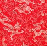 Aziatisch draakpatroon Stock Afbeelding
