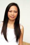 Aziatisch gezicht stock foto's