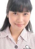 Aziatisch gezicht Royalty-vrije Stock Foto