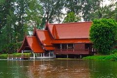 Aziatisch huis 2 Royalty-vrije Stock Afbeeldingen