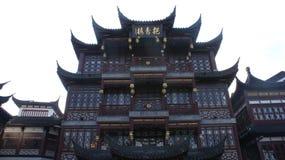 Aziatisch huis Stock Foto