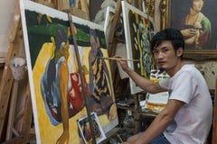 Aziatisch idee van auteursrecht stock afbeelding