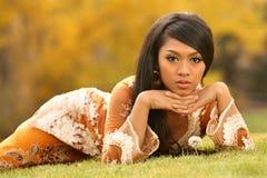 Aziatisch Indonesisch Meisje Royalty-vrije Stock Foto