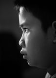 Aziatisch jongensgezicht Royalty-vrije Stock Fotografie