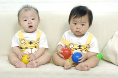 Aziatisch kind royalty-vrije stock afbeeldingen