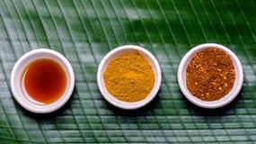 Aziatisch kruiden Royalty-vrije Stock Afbeeldingen