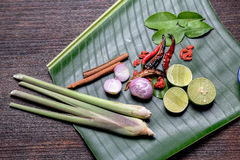 Aziatisch kruiden Stock Afbeeldingen