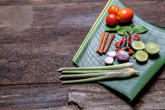 Aziatisch kruiden Stock Foto's