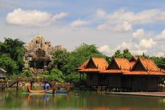 Aziatisch landschap Royalty-vrije Stock Afbeelding
