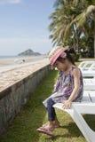 Aziatisch leuk meisje Royalty-vrije Stock Afbeeldingen