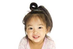 Aziatisch leuk meisje Stock Afbeeldingen