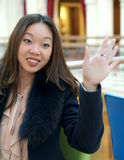 Aziatisch Meisje Royalty-vrije Stock Afbeelding
