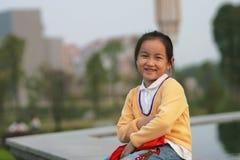 Aziatisch meisje Stock Afbeelding