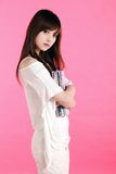 Aziatisch meisje. Stock Foto