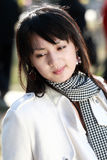 Aziatisch meisje. Stock Foto's