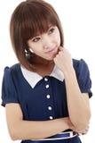 Aziatisch meisjesportret Royalty-vrije Stock Foto