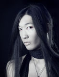 Aziatisch mensenportret Stock Foto