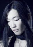 Aziatisch mensenportret Stock Afbeelding