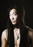 Aziatisch mensenportret Royalty-vrije Stock Foto