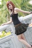 Aziatisch model Royalty-vrije Stock Fotografie