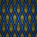 Aziatisch naadloos patroon Stock Foto