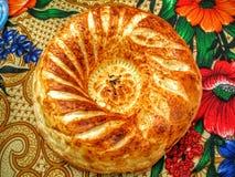 Aziatisch naan brood Stock Fotografie