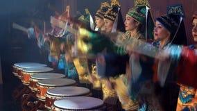 Aziatisch nieuw jaaroverleg stock videobeelden