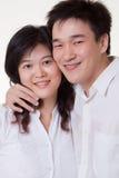 Aziatisch Paar Royalty-vrije Stock Afbeeldingen