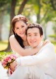 Aziatisch paar Royalty-vrije Stock Fotografie