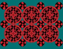 Aziatisch patroon Royalty-vrije Stock Afbeeldingen