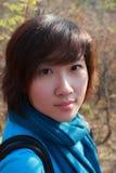 Aziatisch Portret Stock Foto