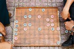 Aziatisch raadsspel Stock Foto