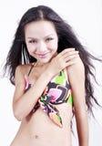 Aziatisch schoonheidsportret. Stock Fotografie
