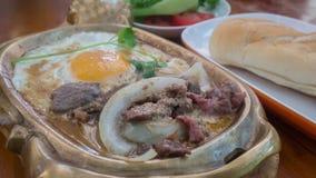Aziatisch stijlontbijt royalty-vrije stock fotografie