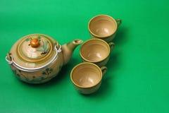 Aziatisch theestel Royalty-vrije Stock Foto