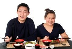 Aziatisch voedsel. Royalty-vrije Stock Afbeeldingen