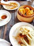 Aziatisch Voedsel Bao stock fotografie