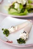 Aziatisch voedsel in restaurant Stock Fotografie