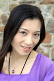 Aziatisch vrouwen Toevallig portret Stock Foto